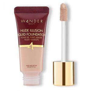 NWT WANDER BEAUTY NUDE ILLUSION FOUNDATION IN FAIR